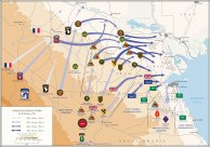 Operation Desert Storm map